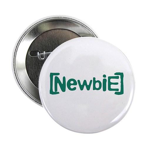 "Newbie 2.25"" Button (100 pack)"