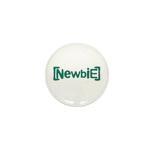 Newbie Mini Button (100 pack)
