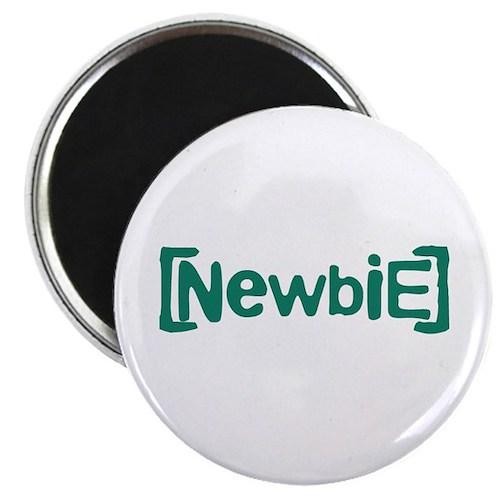 "Newbie 2.25"" Magnet (100 pack)"