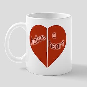 Halve A Heart Mug