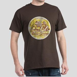 Faded Idaho Springs Colorado Dark T-Shirt
