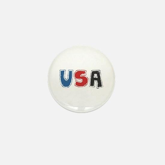 USA Sketch Mini Button