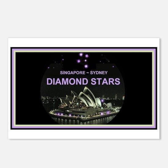 DIAMOND STARS - Postcards (Package of 8)
