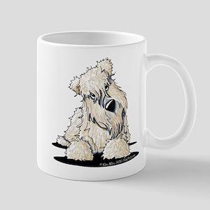 Curious Wheaten Terrier Mug