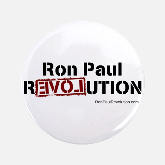 "Ron Paul- 3.5"" Button"
