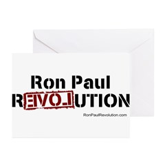 Ron Paul- Greeting Cards (Pk of 20)