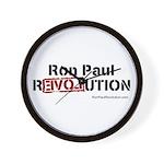 Ron Paul- Wall Clock