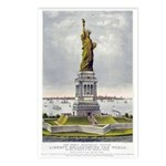 Statue of Liberty-1885 Postcards (Package of 8)
