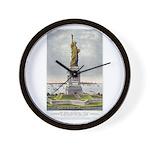 Statue of Liberty-1885 Wall Clock