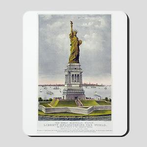 Statue of Liberty-1885 Mousepad
