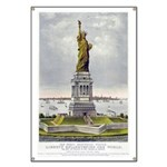 The Statue of Liberty-1885 Banner
