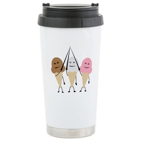 Neapolitan Musketeers Stainless Steel Travel Mug