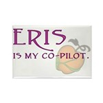 Eris Is My Co-Pilot Rectangle Magnet (100 pack)