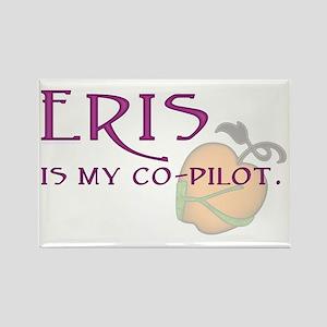 Eris Is My Co-Pilot Rectangle Magnet
