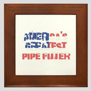 America's Greatest Pipe Fitter Framed Tile