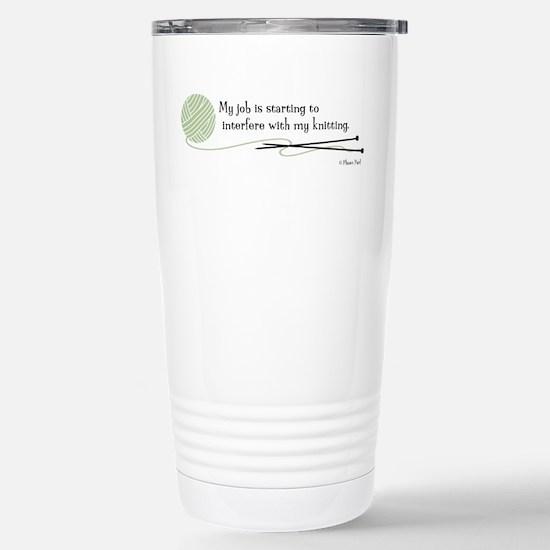 """My Job"" - Stainless Steel Travel Mug"