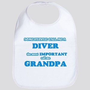 Some call me a Diver, the most important Baby Bib