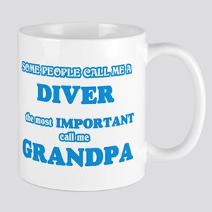 Some call me a Diver, the most important call Mugs