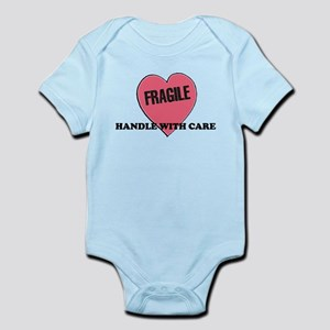 FRAGILE Handle with Care - He Infant Creeper