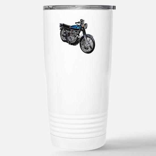 Motorcycle Stainless Steel Travel Mug