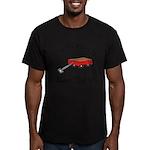 Ocean Beach Fire Island Men's Fitted T-Shirt (dark