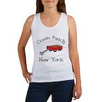 Ocean Beach Fire Island Women's Tank Top