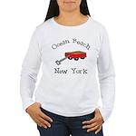 Ocean Beach Fire Island Women's Long Sleeve T-Shir