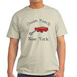 Ocean Beach Fire Island Light T-Shirt
