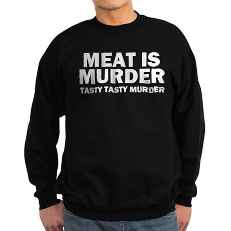 Tasty Tasty Murder Sweatshirt (dark)