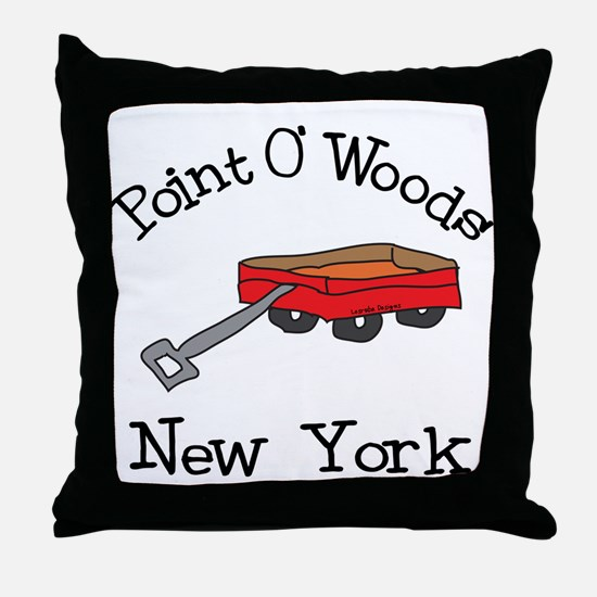 Point O' Woods Throw Pillow