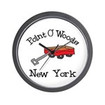 Point O' Woods Wall Clock