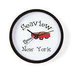 Seaview Wall Clock