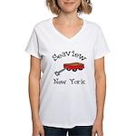 Seaview Women's V-Neck T-Shirt