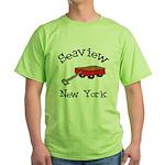 Seaview Green T-Shirt