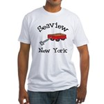 Seaview Fitted T-Shirt