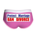 Protect Marriage | Ban Divorc Women's Boy Brief