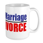 Protect Marriage | Ban Divorc Large Mug