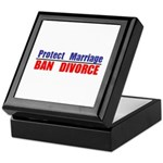 Protect Marriage | Ban Divorc Keepsake Box