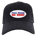 Protect Marriage | Ban Divorc Black Cap