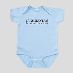 Half Albanian Infant Bodysuit