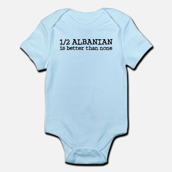 Half Albanian Infant Bodysuit