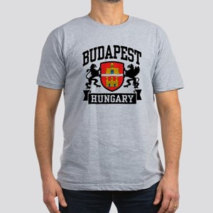 Budapest Hungary Men's Fitted T-Shirt (dark)