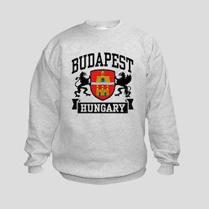 Budapest Hungary Kids Sweatshirt