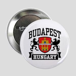 "Budapest Hungary 2.25"" Button"