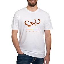 Dubai, Dubayy Pride Fitted T-Shirt