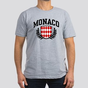 Monaco Men's Fitted T-Shirt (dark)