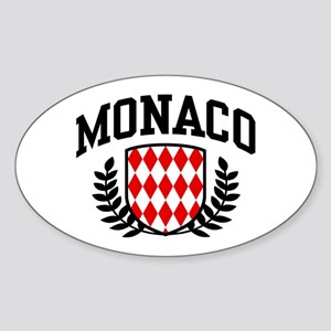 Monaco Sticker (Oval)