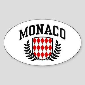 Monaco Sticker (Oval)