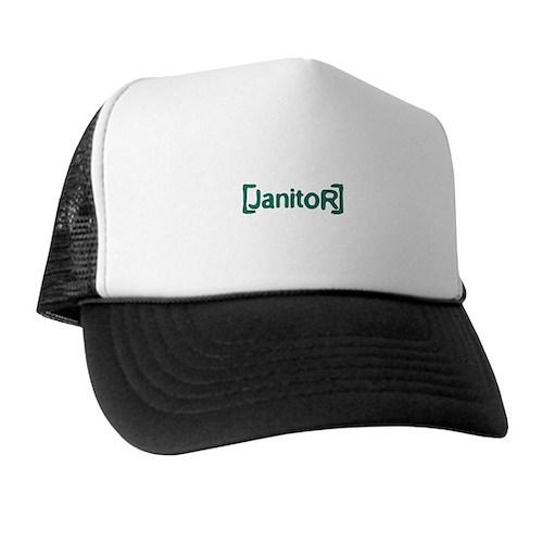 Scrubs Janitor Trucker Hat