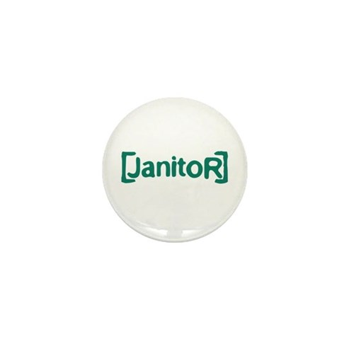 Scrubs Janitor Mini Button (100 pack)
